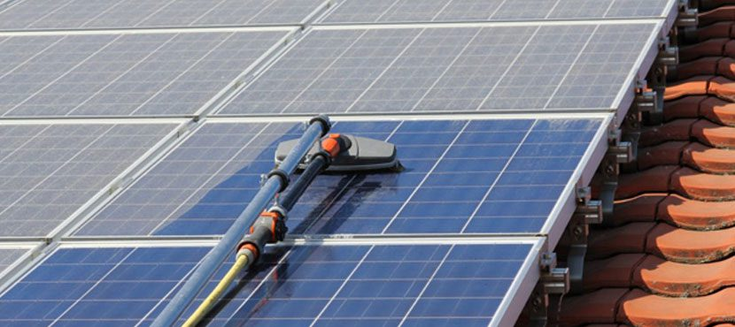 zonnepanelen reinigen Antwerpen