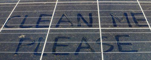 zonnepanelen reinigen